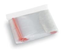 Woreczki strunowe, STELLA, 80x120 mm, 100 szt., transparentne, Woreczki i torby foliowe, Artykuły higieniczne i dozowniki
