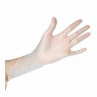 Rękawice winylowe STELLA, 100 szt., M, białe, Rękawice, Ochrona indywidualna