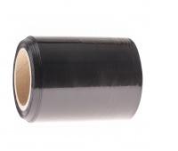 Folia stretch OFFICE PRODUCTS MINI RAP, 0,25kg brutto, szer. 100mm, gr. 23µm, czarna, Folia stretch, Koperty i akcesoria do wysyłek