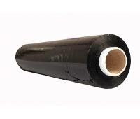 Folia stretch OFFICE PRODUCTS RĘCZNA, 2,5kg netto, szer. 500mm, gr. 23µm, czarna, Folia stretch, Koperty i akcesoria do wysyłek