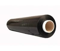 Folia stretch OFFICE PRODUCTS RĘCZNA, 3,0kg netto, szer. 500mm, gr. 23µm, czarna, Folia stretch, Koperty i akcesoria do wysyłek