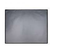 Desk pad Q-CONNECT, PP, 630x500mm, with transparent foil, black