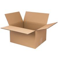 Pudło pakowe OFFICE PRODUCTS, zamykane, karton klapowy: 334x244x340mm, szary, Pudła pakowe, Koperty i akcesoria do wysyłek