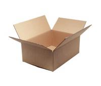 Pudło pakowe OFFICE PRODUCTS, zamykane, karton klapowy: 220x140x90mm, szary, Pudła pakowe, Koperty i akcesoria do wysyłek