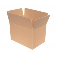 Pudło pakowe OFFICE PRODUCTS, zamykane, karton klapowy: 314x244x200mm, szary, Pudła pakowe, Koperty i akcesoria do wysyłek