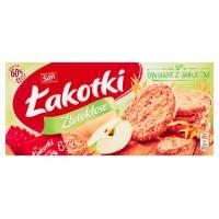Ciastka ŁAKOTKI SAN ZŁOTOKŁOSE, jabłkowe, Ciastka, Artykuły spożywcze