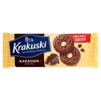 Ciastka KRAKUSKI, kakaowe, Ciastka, Artykuły spożywcze