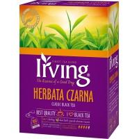 Herbata IRVING, czarna, 100 kopert, Herbaty, Artykuły spożywcze