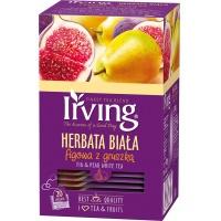 Herbata IRVING, biała, figa z gruszką, 20 kopert, Herbaty, Artykuły spożywcze