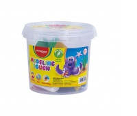 Clay KEYROAD, 40g x 8 pcs, 10 molds, in a bucket, color mix
