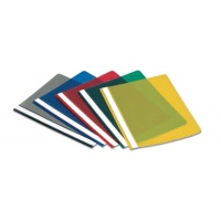 Skoroszyt DONAU, PP, 5szt., transparentny, mix kolorów, Skoroszyty podstawowe, Archiwizacja dokumentów