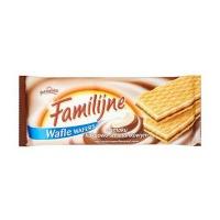 Wafle FAMILIJNE JUTRZENKA, śmietankowo-kakaowe, 180g (SP-000480), Promocje, ~ Nagrody