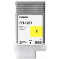 Tusz Canon imagePROGRAF TM-305 | PFI-120Y | 130 ml. | yellow, Tusze CANON, Tusze