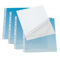 Koszulki na dokumenty Q-CONNECT, PP, A4, krystal., 50mikr., 100szt., w pudełku, transparentna, Koszulki i obwoluty, Archiwizacja dokumentów