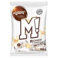 Cukierki czekoladowe WAWEL MICHAŁKI ZAMKOWE, białe, 1kg., Czekoladki, Artykuły spożywcze