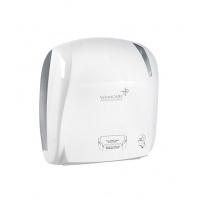 Podajnik VELVET AutoCut, do ręczników VLP-5200012, 371 x 221 x 330mm, ABS, biały, Ręczniki papierowe i dozowniki, Artykuły higieniczne i dozowniki