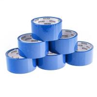 Taśma pakowa OFFICE PRODUCTS, 48mm x 50y, 36mic, EAN na 1szt., niebieska, Taśmy pakowe, Koperty i akcesoria do wysyłek