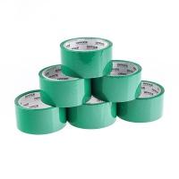 Taśma pakowa OFFICE PRODUCTS, 48mm x 50y, 36mic, EAN na 1szt., zielona, Taśmy pakowe, Koperty i akcesoria do wysyłek
