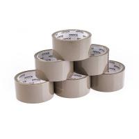 Taśma pakowa OFFICE PRODUCTS, 48mm x 50y, 36mic, EAN na 1szt., brązowa, Taśmy pakowe, Koperty i akcesoria do wysyłek