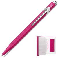 Zestaw upominkowy Caran d'Ache, długopis 849 M + notes, różowy, Długopisy, Artykuły do pisania i korygowania