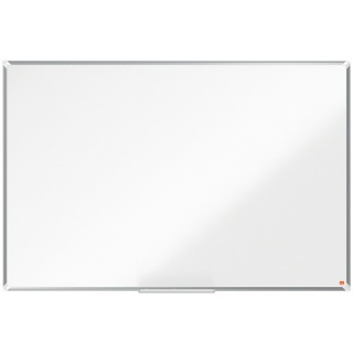Tablica stalowa Nobo Premium Plus, 1500 x 1000mm, stal lakierowana, rama aluminiowa, biała, Tablice suchościeralne, Prezentacja