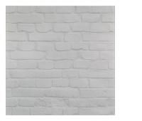 Dryness board. -magn. SIGEL, (480 x 480 x 15mm), glass, clinker motif, white