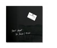Dryness board. -magn. ARTVERUM, (300 x 300 x 1.5mm), glass, black