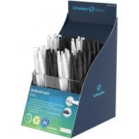 Display długopisów automatycznych SCHNEIDER Reco, 60 szt., mix kolorów, Długopisy, Artykuły do pisania i korygowania
