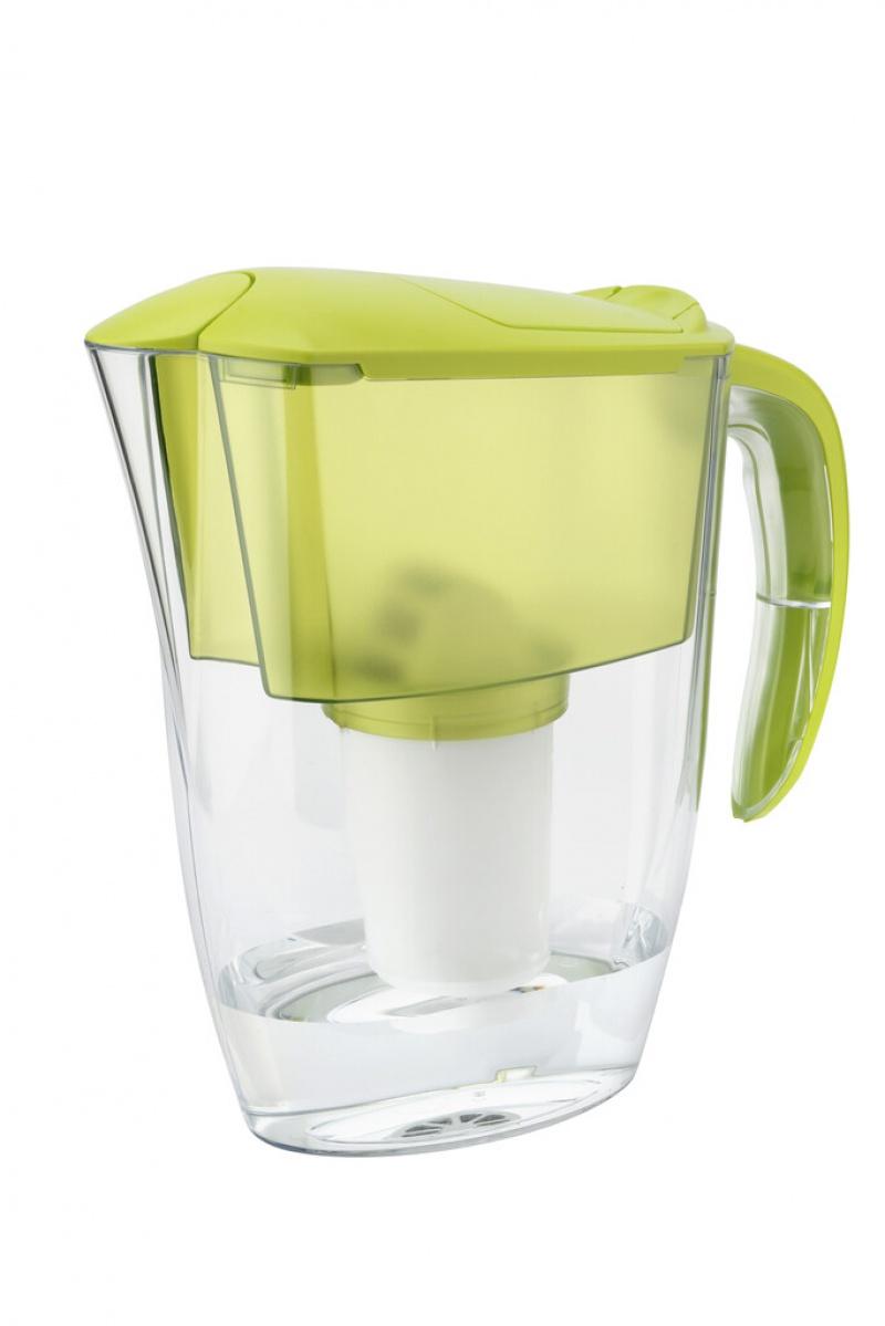 Dzbanek filtrujący AQUAPHOR Smile + wkład magnezowy A5 mg, limonkowy, Czajniki, Wyposażenie biura