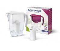Filter pitcher, AQUAPHOR Smile + Magnesium cartridge A5 mg, white