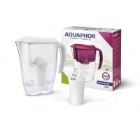 Dzbanek filtrujący AQUAPHOR Smile + wkład magnezowy A5 mg, biały, Czajniki, Wyposażenie biura