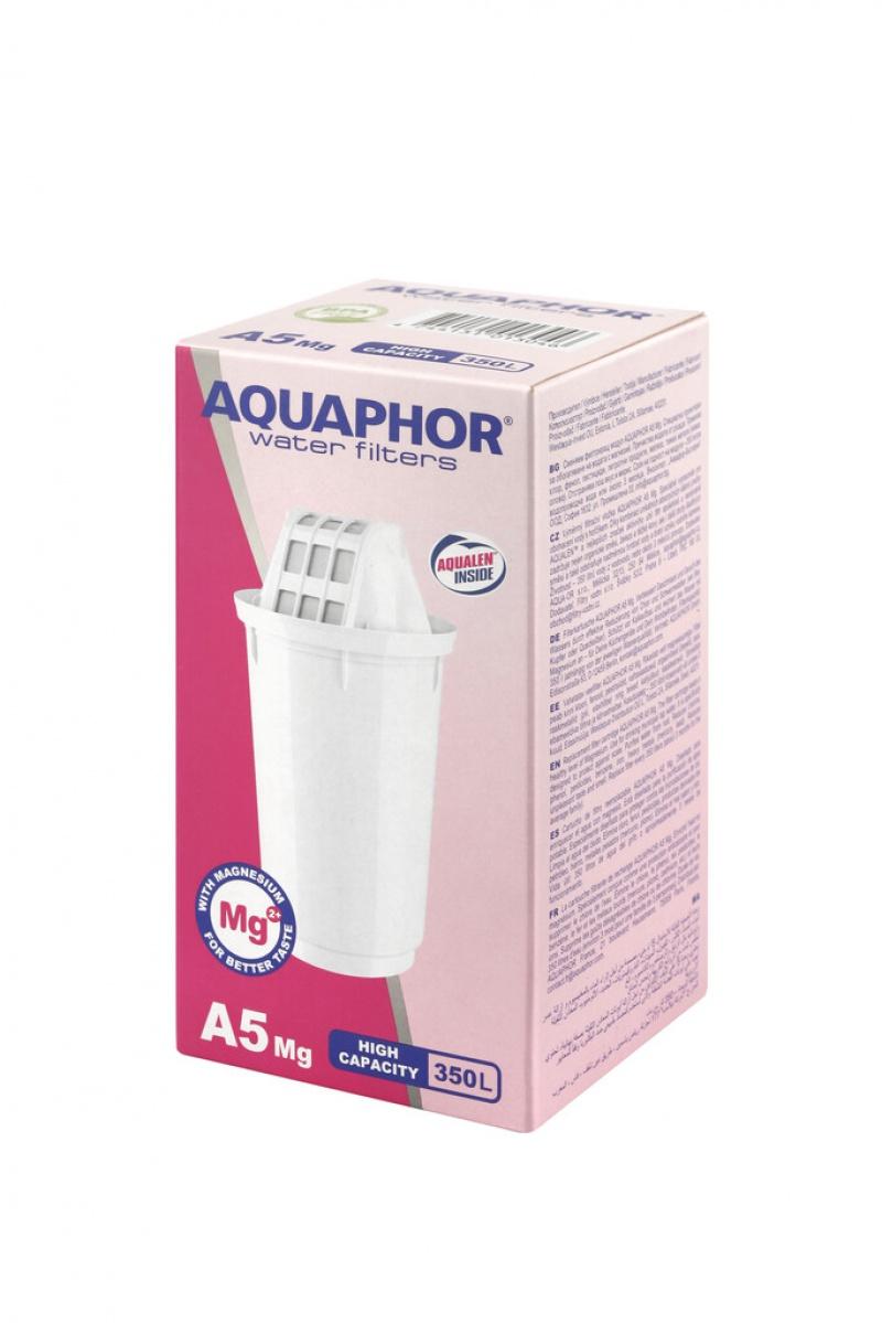 Wkład filtrujący AQUAPHOR A5 Mg do dzbanka filtrującego, Czajniki, Wyposażenie biura