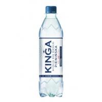 Woda mineralna KINGA PIENIŃSKA, gazowana, 0,5l, Woda, Artykuły spożywcze