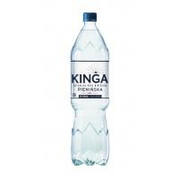 Woda mineralna KINGA PIENIŃSKA, gazowana, 1,5l, Woda, Artykuły spożywcze