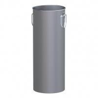 Wkład do koszopopielnicy ALDA A632-19 CIGARETTE PILAR, szary, Kosze metal, Wyposażenie biura