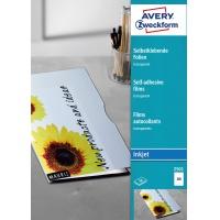 Przezroczyste folie samoprzylepne; A4, 50 szt./op., powlekane, grubość 0,17 mm, Avery Zweckform, Folie, Papier i etykiety