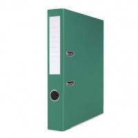 Segregator BASIC-S z szyną, PP, A4/50mm, zielony, Segregatory polipropylenowe, Archiwizacja dokumentów