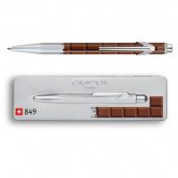 Ballpoint pen 849 Pop Line Totally Swiss - Chocolate