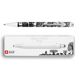 Długopis 849 Pop Line Totally Swiss - Paper Cut, Długopisy, Artykuły do pisania i korygowania