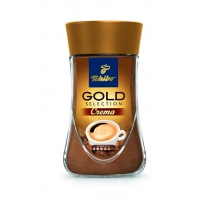 Kawa TCHIBO, GOLD SELECTION CREMA. rozpuszczalna, 180 g, Kawa, Artykuły spożywcze