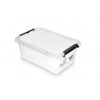 Pojemnik ORPLAST SIMPLE BOX, 4,5 L (290 x 200 x 120mm), transparentny, Pudła, Wyposażenie biura