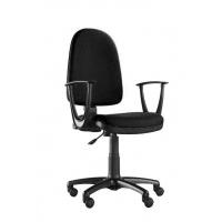 Fotel biurowy OFFICE PRODUCTS Evia, czarny, Krzesła i fotele, Wyposażenie biura