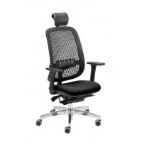 Fotel biurowy OFFICE PRODUCTS Skiatos, czarny, Krzesła i fotele, Wyposażenie biura