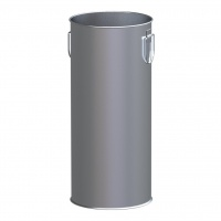 Wkład do koszopopielnicy ALDA, Ø20 cm, Kosze metal, Wyposażenie biura
