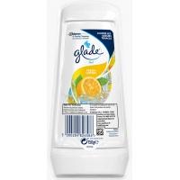 Odświeżacz powietrza GLADE/BRISE Citrus, żel, 150g, Odświeżacze i dozowniki, Artykuły higieniczne i dozowniki