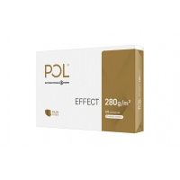Papier ksero satynowy IP POL EFFECT, A4, klasa A++, 168CIE, 280gsm, 125ark., Papier do kopiarek, Papier i etykiety