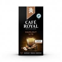 Kapsułki kawowe CAFE ROYAL ORZECHOWE, 10 szt, Kawa, Artykuły spożywcze