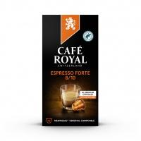 Kapsułki kawowe CAFE ROYAL ESPRESSO FORTE, 10 szt, Kawa, Artykuły spożywcze