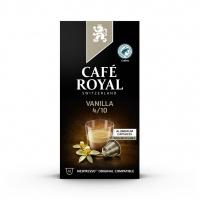Kapsułki kawowe CAFE ROYAL WANILIOWE, 10 szt, Kawa, Artykuły spożywcze