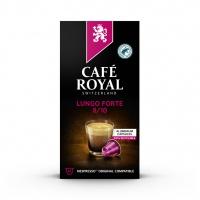 Kapsułki kawowe CAFE ROYAL LUNGO FORTE, 10 szt, Kawa, Artykuły spożywcze
